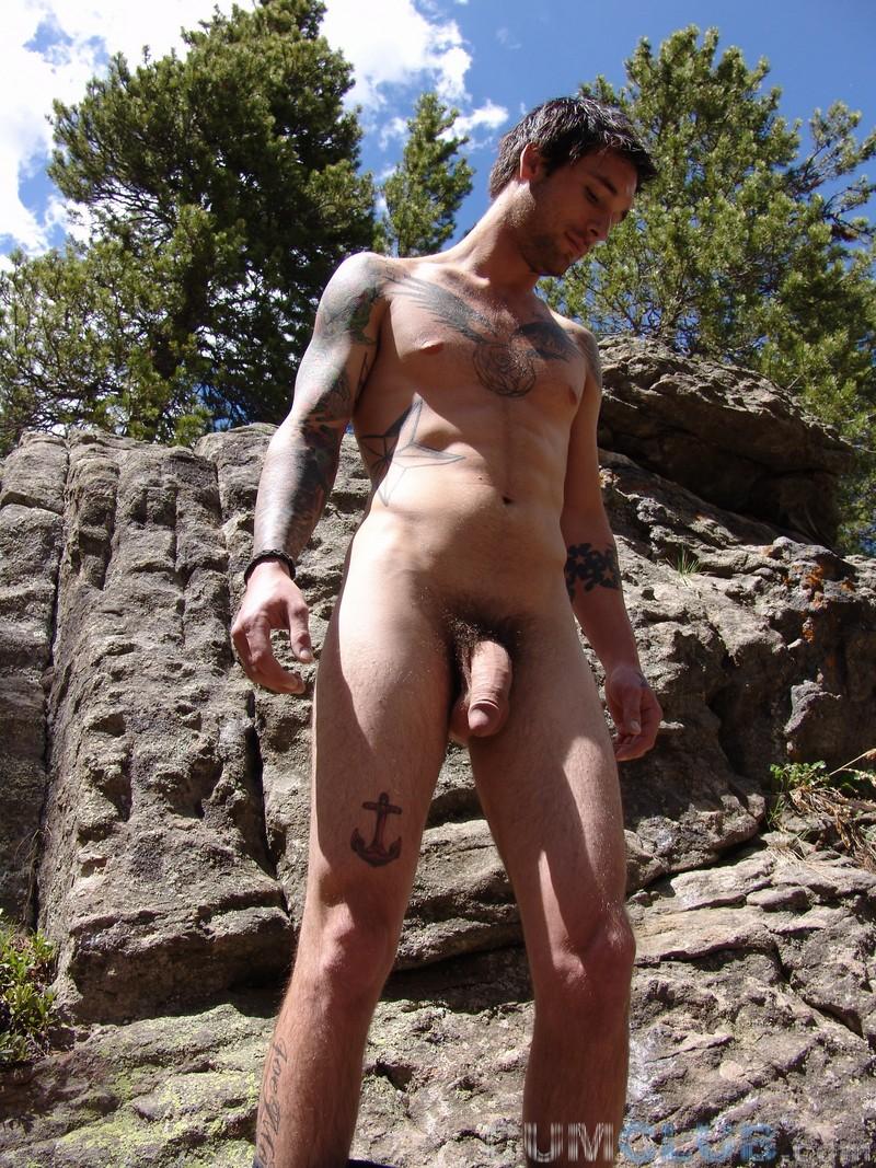 Mountain Man Cum Swallowing
